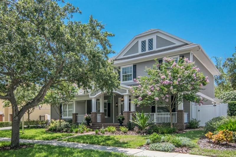 Gorgeous curb appeal on tree lined street in PARKLAND ESTATES!