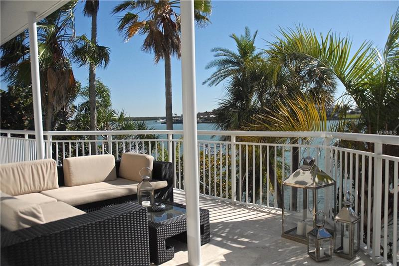 Breathtaking views from the balcony off the formal living/dining room!