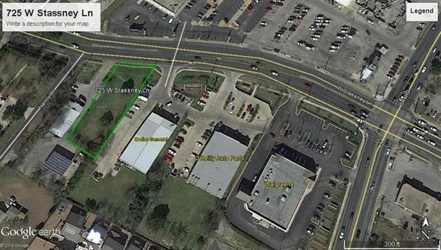 MOTIVATED SELLER  One of the last remaining lots on West Stassney.  Survey available.  All Utilities on site. 13,939 square feet with 75 feet frontage on Stassney LN.  Next door to Dollar General.  See agent about zoning.