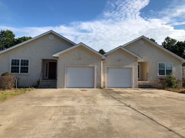 Both units being sold together, CAN NOT split up.  Each unit has 3 bedrooms and 2 bathrooms, with spacious master suites and open kitchen and living area. Great location close to interstate, schools, and employment.