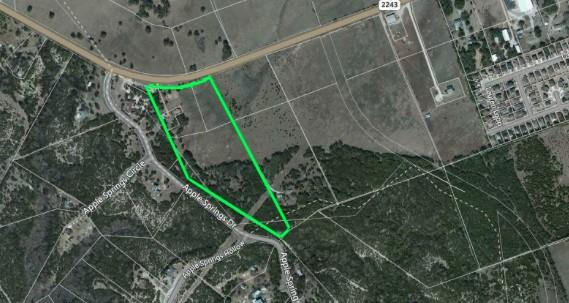 Located within Leander City Limits, Excellent Development Opportunity