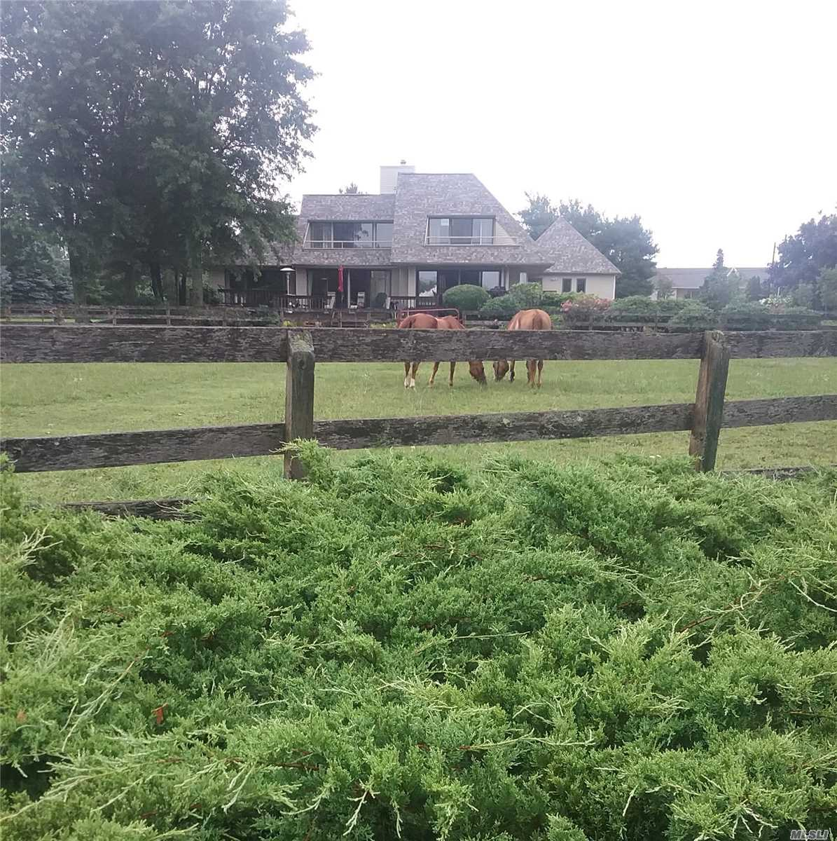 Custom Built 4 Bedroom, 3.5 Bath On 10.2 Acres With Equestrian Facilities. 42'X70' Morton Barn, Six-10X12 Stalls W/Windows, Intermatic Stall Lighting System, 4 Doorways, Insulated Tack/Aid Room Etc. 10 Ton+ Hay And Misc. Storage Plus  80'X120'X30' Indoor Training Arena With Sunlight Interior On E, W, And So. Exposures.  Plus 120' Round Pen + 40' Walled Round Breaking Pen Plus 7 Exterior Light Systems, 4 Exterior Water Systems, Entire Acreage Fenced/Cross Fenced.