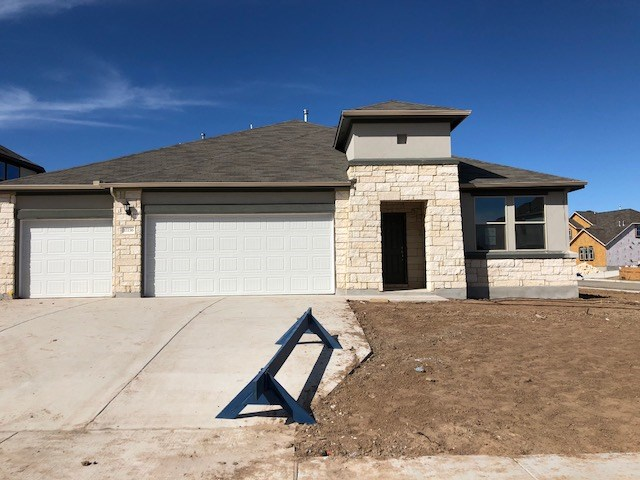 "THIS NEW RSI COMMUNITIES HOME OFFERS THE BEST IN OPEN FLOOR CONCEPT. THE KITCHEN HAS 42"" JAVA CABINETS WITH CROWN MOLDING AND HARDWARE, WHITE QUARTZ COUNTERTOPS, STAINLESS APPLIANCES, HUGE KITCHEN ISLAND, AND MORE! THE MASTER FEATURES LARGE WALK-IN SHOWER, AND OVERSIZED WALK IN CLOSET. THIS HOME ALSO FEATURES 2"" BLINDS THROUGHOUT, FRONT AND BACK IRRIGATION, LANDSCAPING, COVERED PATIO AND FENCE. ESTIMATION COMPLETION EARLY 2018."