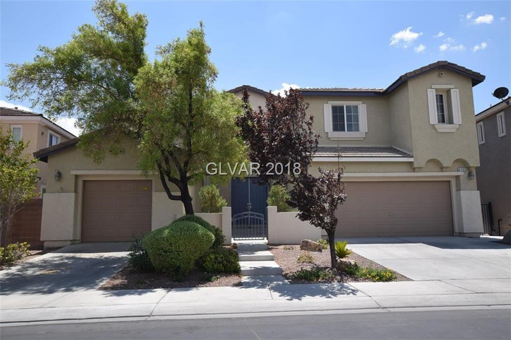 BEAUTIFUL 4000+SQFT HOME IN GATED ALIANTE!SPLIT 3-CAR GARAGE*CRTYRD & DBL DOORS*GRAND ENTRY W/ SOARING CEILINGS & SWEEPING STAIRCASES*ISLAND KITCHEN COMPLETE W/ GRANITE COUNTERS & WALK IN PANTRY/ALL APPLNCS STAY*KITCH OPEN TO COZY FAM RM W/FIREPLACE*RAISED PANEL DOORS*AWESOME LOFT COULD BE 2ND FAMILY/GAME RM*COVERED PATIO/LNDSCP YARD*MSTR SUIT BOASTS SITTING RM & HIS/HERS BATHRMS*GARAGE W/CABINETS & STORAGE RACKS*HIGH QUALITY HOME THEATER SYSTEM!