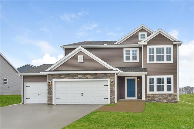 New construction be to complete November 2018, 4 bed, 2.5 bath home in the Bear Creek Community, located in the Swartz Creek Community Schools District, close to I-75, I-69 & US-23, conveniently surrounded by shopping, restaurants & cultural opportunities. Leisure options are abundant & include golf, Mt. Holly Ski resort, parks & multiple state recreation area. RESNET ENERGY SMART NEW CONSTRUCTION, 10 YEARS STRUCTURAL WARRANTY. A beautiful entry welcome's you home to an open floor plan. Den, lg great rm, dining nook & gorgeous kitchen. The kitchen will have granite counters, tile back splash, complimented with castled cabinets, center island & finished with SS; dishwasher, range & microhood. Escape upstairs to the master suite including WIC & private full bath with a dual bowl vanity,. 3 more spacious bedrooms, full bath & 2nd floor laundry complete the upper level with space for family & friends. Daylight basement has good natural light. Home is 27 years newer than most in price range