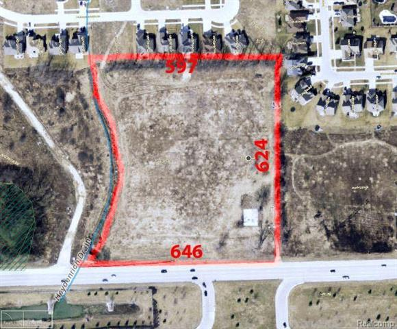 Two Parcels 0833376008 & 0833376010 Outstanding commercial opportunity on Hall Rd. 8.27 Acres with 646 Feet of Hall Rd Frontage.  Excellent  traffic & viability.  Hall Rd turnaround directly in front of property. Possibilities are endless.