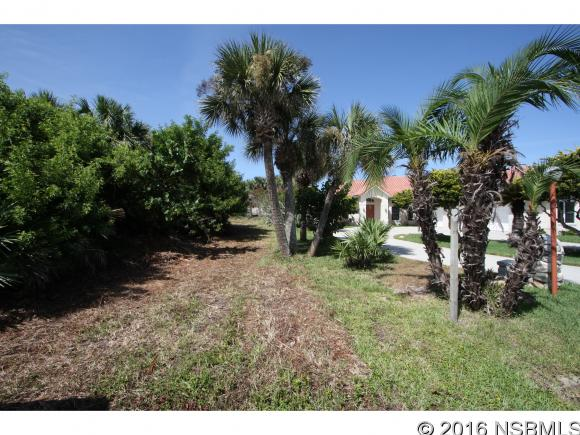 Cleared and filled extra large Beachside lots. Lot dimensions are 75x177+. Area of upscale homes. Water meters in place. Super close to the Watts Ave. beach walkover, which is primarily used by the neighborhood since there is no vehicle parking in the area. Very close to a couple of small boat ramps to access the Mosquito Lagoon backwater.
