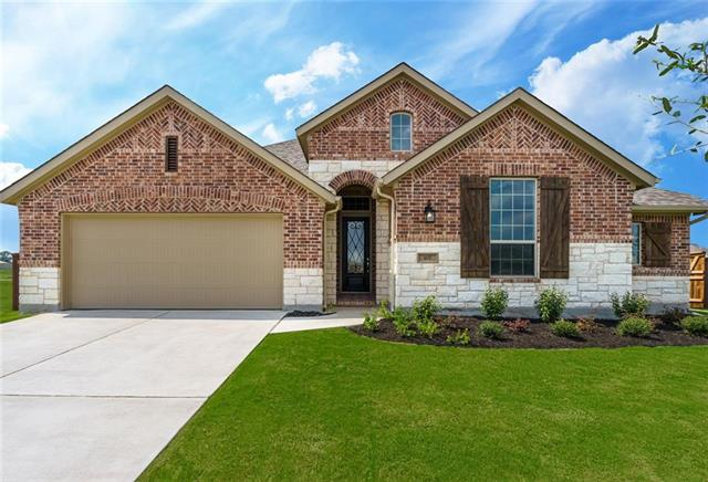 MLS# 1558119 - Built by Highland Homes - Ready Now!! ~ Gorgeous 1 story floor plan with white designer kitchen and high ceilings throughout. Beautiful natural light illuminates throughout this home! Entertain on the large covered patio and enjoy the privacy this home site offers!!!