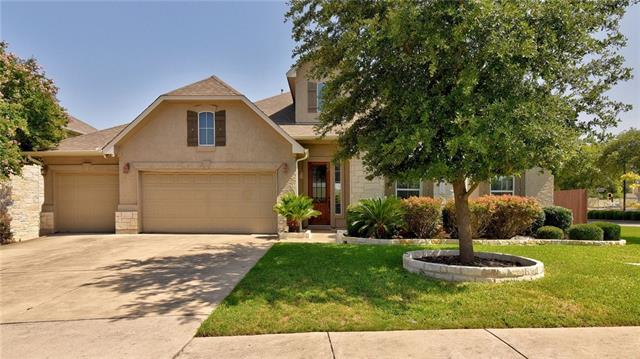 Beautiful 1.5 story in desirable Avery Ranch~culdesac location~Flr plan is ideal for relaxing*working* entertaining~Bdrms & study on main level w/game rm/media/full bath up~Lrg kitchen w/granite sizable island, SS appliances w/double ovens & gas cooktop~great for hosting~On-Q networking/audio/security sys~New carpeting July 2018/New Stone Landscaping around front Beds June 2018~New Steel Posted Fence April 2017~Covered patio overlooks lrg backyard w/fruit trees~close proximity to neighborhood amenities