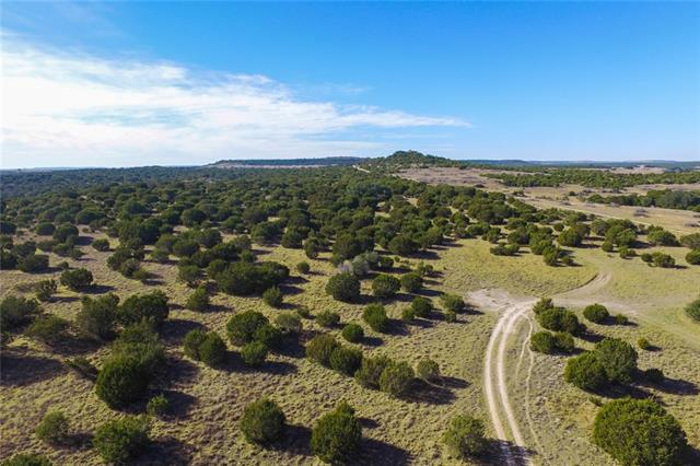 Phenomenal recreational & hunting ranch close in, less than 1.5 hrs from Austin. The views are some of the best we've seen in the entire county. The ranch is loaded with native Texas wildlife ranging from Whitetail Deer, Rio Grande Turkey, hogs, Bobcats, Coyote, dove, ducks, and other species native to Central Texas. Buyer to confirm school district.  Multiple acreage options available, at 248ac, 125ac, 123ac.