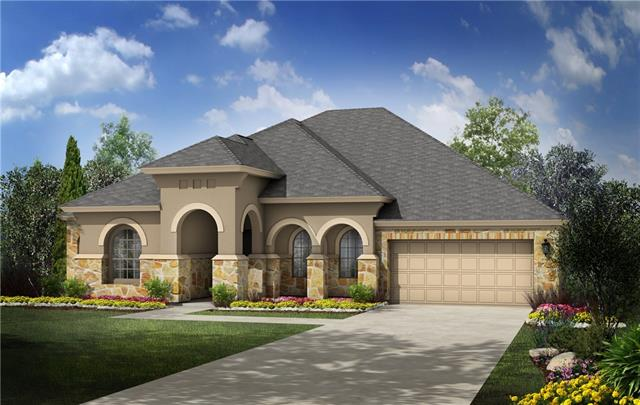 This beautiful four bedroom, 1 story home located in Caballo Ranch boasts an eat-in kitchen plus a formal dining and covered back patio. With a stunning stone and stucco exterior, rotunda entry, hardwood floors, and sleek bone kitchen cabinets, this home is a must-see!