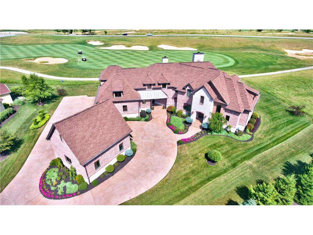 Builder, architech & designer collaborated to create this J.A. Yancey masterpiece w/ .62 acres of commanding golf course views! Home being offered at a price far less then one could build today–still feels new! Custom cabinetry, exquisite granite countertops, stately trim on all 3 levels & 5 car garage–this home impresses! Walkout bsmt w/ state of the art theatre, large bar, fam rm, rec area & more! Sagamore is the best kept secret in Hamilton County! Country club lifestyle & golf course living!