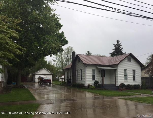 Very nice 2 bed, 1 bath home in Ovid Elsie Schools with 1 detached car garage.