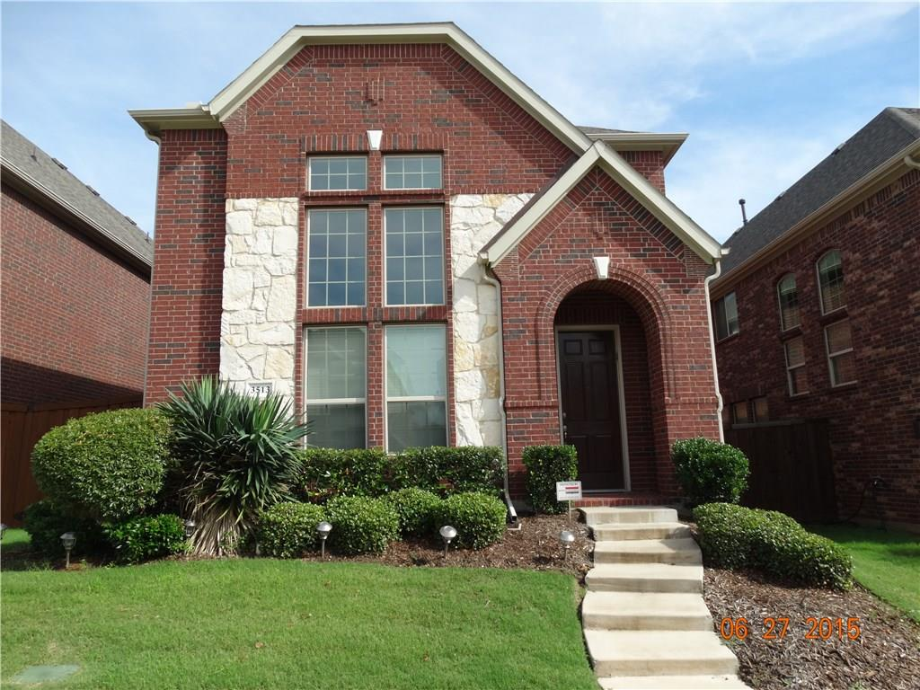 This beautiful home in great community in Plano has great curb appeal. 3 bed 2 and a half bath home with high ceilings, hardwood flooring and formal dining and breakfast area. Extra large room in the downstairs that can be used as an office. Large backyard with fence, fridge included. Open floor plan home, down the street from Taylor Elementary.