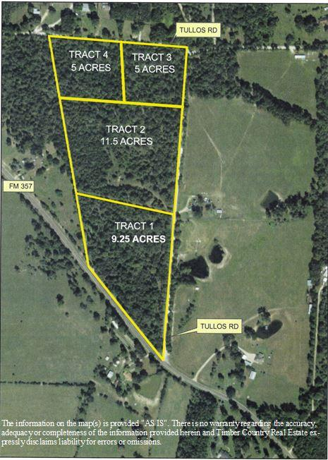Tract 3 Tullos Rd, Apple Springs, TX 75904