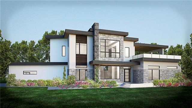 NEW CONSTRUCTION- private nearly 1/2-acre lot with plans for 2-story contemporary home to feature