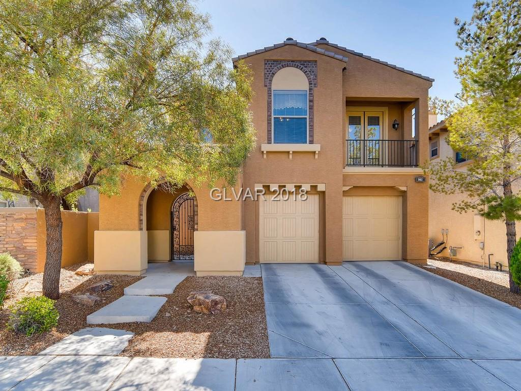 This is a fabulous home in guard gated Tuscany!Minutes from Lake Las Vegas & Lake Mead the community amenities including the outstanding recreation center w/billiards,pools,spa,state of the art exercise equipment are just a few activities you could enjoy w/your family.This home boasts a large balcony,covered patio & pool size yard.This immaculate upgraded home includes bedroom & bath down & the winding staircase is stunning.