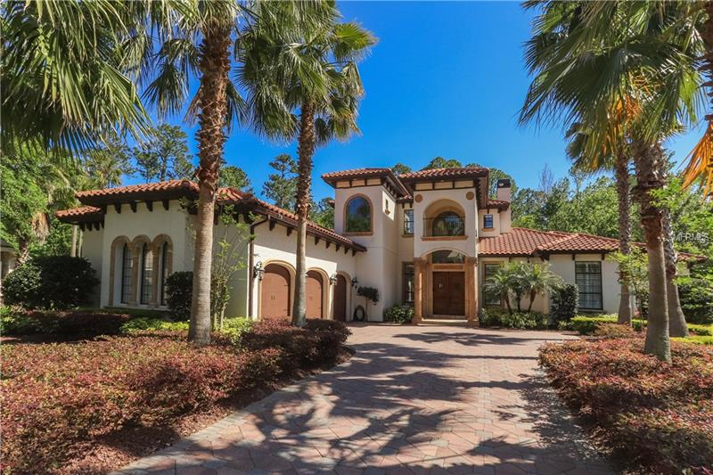 "Custom Signature Home in Lake Forest!  An outstanding home to wow even the most selective buyer.  The gourmet kitchen boasts solid wood cabinetry, exotic granite, commercial ice maker, wine cooler, double oven with warming tray, and gas cooktop. A fabulous hidden walk in pantry 16 x 5'4"" with custom shelving.  The home has travertine floors that flow from indoor space to the outdoor living area.  You will love the outdoor kitchen and built in fireplace, 6 sets of disappearing doors that lead from the indoor living space to the stunning pool area.   Perfect for entertaining large numbers, yet cozy enough to enjoy a quiet evening alone.  You couldn't ask for a better location, the home sits at the end of a cul-de-sac, nestled up to conservation for privacy and beauty.  The salt water pool has in water color changing LED lights on remote control system.   The master bedroom  includes a large walk in closet on separate locking system, and a 9x14 exercise room with access to outdoor pool area. If you want extra storage, there is 65 sq/ft of walk in storage, as well additional closets on main floor.   Home also has 3 Zone A/C, water softener, 24 zone alarm system, surround sound, oversized garage with extra storage and finished floor.  Too many upgrades to mention, please ask for the complete list.  Come enjoy this 24 hr guard gated community with tennis courts, basketball courts, Jr Olympic pool, kiddie pool, workout room and clubhouse.  This property may be under Audio/Visual Surveillance."