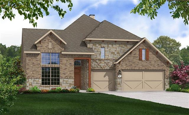 Popular Model Villanova Floorplan. Open and spacious one story featuring 4 bedrooms and 3 full baths, Master Bedroom Bay Window, Separate Mudset Shower and Drop in Tub, Granite Countertops, Custom Tile Backsplash, Covered Back Patio, Full Sprinkler/Sod in Front & Rear Yards. See Agent for Details on Finish Out. Available May.