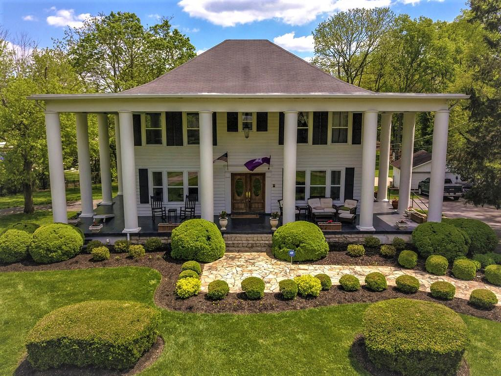 Come see this stunning 1920's Southern Antebellum Estate home, sitting on just under 2 flat acres within minutes of downtown Nashville in the heart of the Oak Hill community.  Properties like this do not come available very often. Please allow 24 hr notice for viewings. Check out the Drone video!