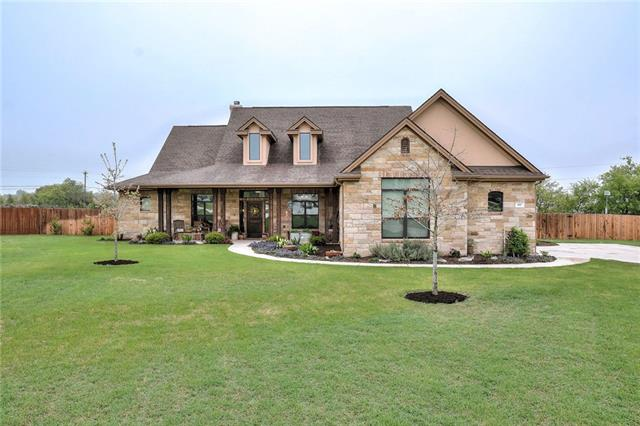 Stunning home on one acre lot!  This custom home looks like something you would see in a magazine. 4 bed 3 bath home features open floorplan w/high ceilings,stone fireplace,gorgeous kitchen w/granite countertops,knotty alder cabinets, ss appliances,farm sink,center island,large master with sitting area, Dual sinks,separate shower and garden tub,walk-in closet, large covered back patio & front porch, sprinkler system, so much more. Secondary bed has a full bath attached.  Easy Access to 183A & 29.