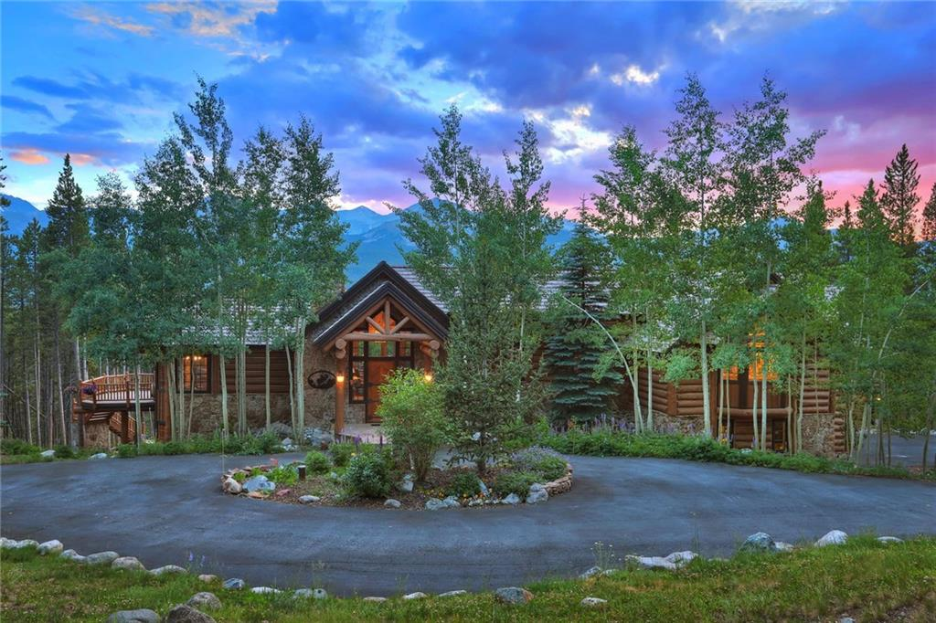 RUSTIC LUXURY defines this immaculate, timeless family magnet. Log and stone define a comfortable, flowing floor plan.  There's more to life in Breckenridge than SKI IN/SKI OUT! Private amenities in Spruce Valley offer year-round recreation! Tennis, horses, fishing, skeet and trap range! 3 acre lot backing to Nat. Forest assure PRIVACY and PEACE that you will not find in a ski in/out location. THIS is a mountain paradise! In almost perfect condition and selling completely furnished and equipped.