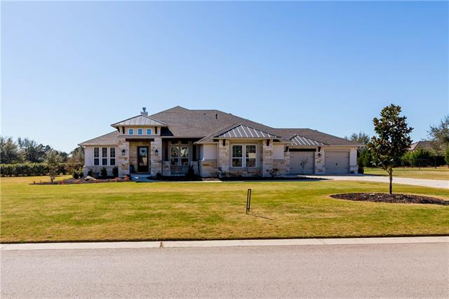 """Beautiful Reagan's Overlook home w/estate-sized 1 acre lot. This home is immaculate & ready for you to enjoy the open floor plan, high ceilings (12'-14') custom window coverings ($5,000), gourmet kitchen with 2 ovens, gas cook top, ice maker, & wine fridge.  Your huge back yard includes a covered patio and is ready for a pool, plays-cape, etc. Property has $10,000 wrought iron fence.  Game/media/2nd living room, fantastic master bath, 3.5 car garage, private study. See full WALK-THRU Video (Click """"HD"""")"""