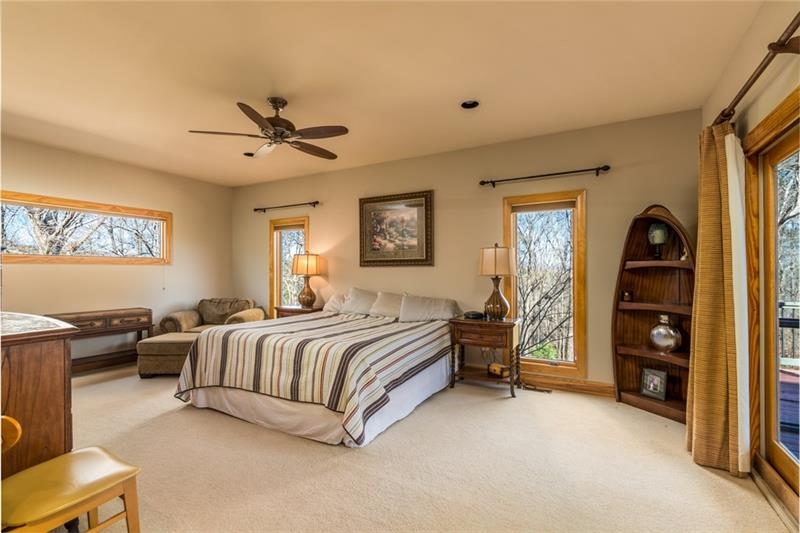Spacious Master Bedroom on Main