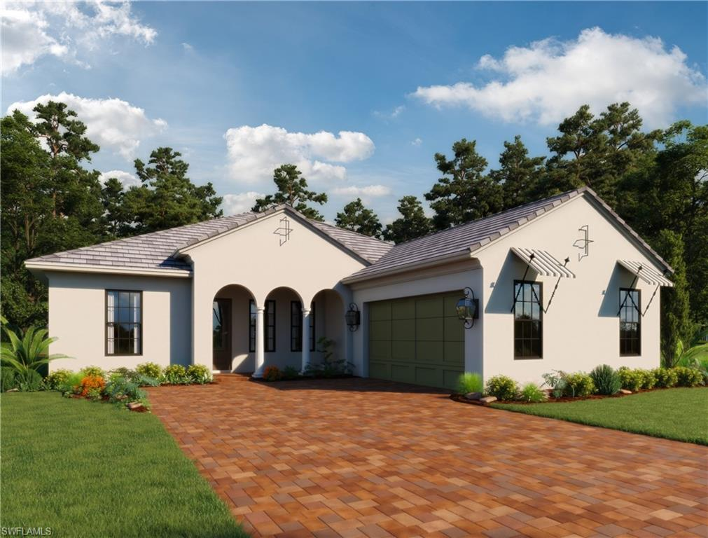 Now includes a Colins and DuPont furniture package!! New construction in Marsh Cove at Fiddlers Creek. Home is scheduled to deliver by March 2019. Valencia II model by Ashton Woods features great room design with wood look tile opening to an Island Kitchen with White Shaker style Cabinets and quartz countertops, Study, 3.5 Baths, extended covered lanai with custom pool and infinity edge spa overlooking the beautiful lake. This home has a private dock with views of the all-natural creek of Fiddler's Creek! Marsh Cove is a gated community within Fiddlers Creek and located a short distance to the main clubhouse. Fiddler's Creek is a multi-award winning community located a few minutes from Marco Island and it's beautiful beaches as well as about a 20 minute drive to downtown Naples. Amenities at Fiddlers include a resort-style pool area with 4 pools, large spa, playground, an outside restaurant as well as a more formal restaurant, state of the art fitness center, har-tru tennis courts, available golf and a full calendar of social activities.