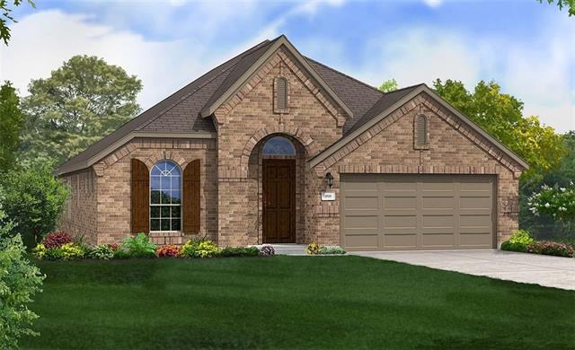 Single story Laurel floor plan featuring study with doors, formal dining room, open kitchen, breakfast and family rooms. Master Bedroom Bay Window, Granite Countertops, Custom Tile Backsplash, Covered Back Patio, Full Sprinkler/Sod in Front & Rear Yards. See Agent for Details on Finish Out. Available End January.