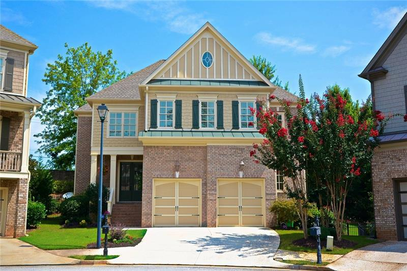 Executive home! Fabulous location & floorplan! Practically new & so well kept! Culdescac yet in the city ... walk-able to Sandy Springs Circle, Trader Joe's, Marta! Designer colors, hardwds & custom trim! Light & bright & 10ft ceilings! Open Kitchen w/ 2 ovens, gas cooktop! Master Suite w/ 2 walk in closets & Bath w/ sep shower & jacuzzi tub! Recently done walkout Terrace level w/ conditioned wine rm, entertainment rm, wet bar, bedrm, full bath & storage! Beautiful BY Deck & new sod! HOA lawncare so you'll have time to do things you like! Great Schools! Enjoy!