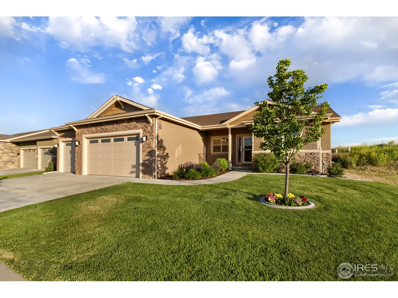 Recently finished basement with all the bells and whistles! Hand crafted doors, brand new television set and new high end Speakers and receivers along with a fridge all stay in your recently built high end theater room. To many features to list you must see. Enjoy biking and hiking the several Poudre trails that are available to you. HOA includes outside water, trash, mowing, snow removal, sprinkler blowouts so you have more time to enjoy your home. Stand alone home with patio home amenities!