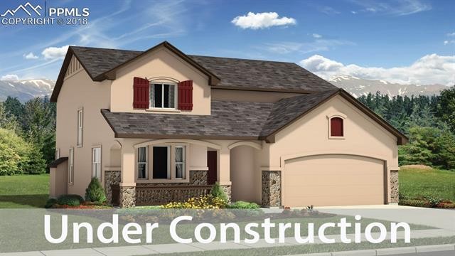 Ready in December. Sierra 2-story plan with 2 car garage in Forest Lakes. 5 bedrooms plus loft & study, 3.5 bath home. Kitchen features Antique white maple cabinets, quartz countertops and stainless steel appliances.  Air conditioning. Gas line to range. Brushed nickel hardware. Finished  basement includes 1ft taller ceilings plus 2 bedrooms, 1 bath and large recreation room. Exterior living includes covered deck.