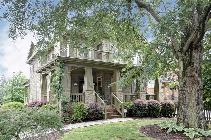 WOW! The picket fence and large wrap-around front porch welcome you to this charming craftsman style Brookhaven home! Beautiful woodwork throughout! The kitchen features stainless steel appliances, breakfast bar, granite countertops, breakfast room, and butler's pantry! The family room has coffered ceilings and a cozy wood burning fireplace! Master bedroom with sitting room and fireplace, private balcony, and spa like master bath! Perfect location close to all Brookhaven has to offer including the shops and restaurants in Town Brookhaven! Lovingly maintained, this like new home is waiting for you!