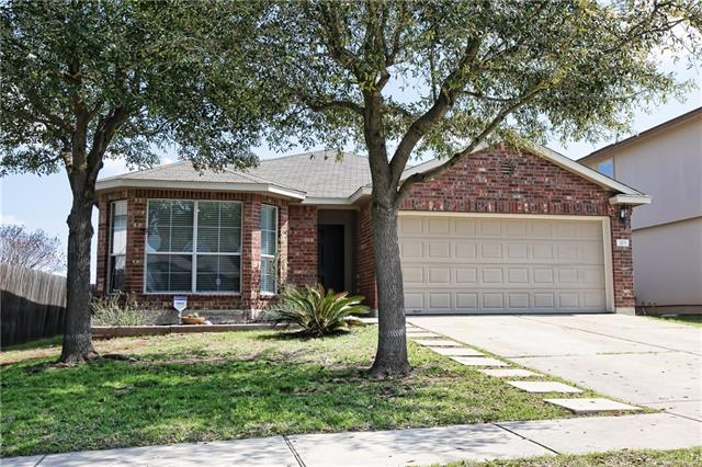 Cute updated one story home nestled in Riverwalk Community. Hutto ISD. This home has been updated with new carpet, tile, exterior paint, blinds, plumbing fixtures & more! Appliance package conveys* Covered back patio with extended patio great for entertaining. This adorable home is ready for it's new owner.