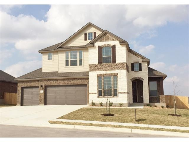 "Gorgeous NEW Scott Homes 5 Bed; 3 bath; formal dining; gameroom; 3-car garage 2-story on 80' wide Homesite. Stunning 4-sided brick w/stone/covered porch and patio. Amazing floorplan w/master, bed 5 plus 3rd full bath down! Elegant crowned ceiling at entry/master. Gourmet kitchen w/spacious breakfast bar;upgraded stainless appliances; Custom Built Cabinetry w/42"" uppers. Oversized 42""x48"" shower in Master plus built-in tub w/tiled skirt. Energy Audit w/HERS cert."