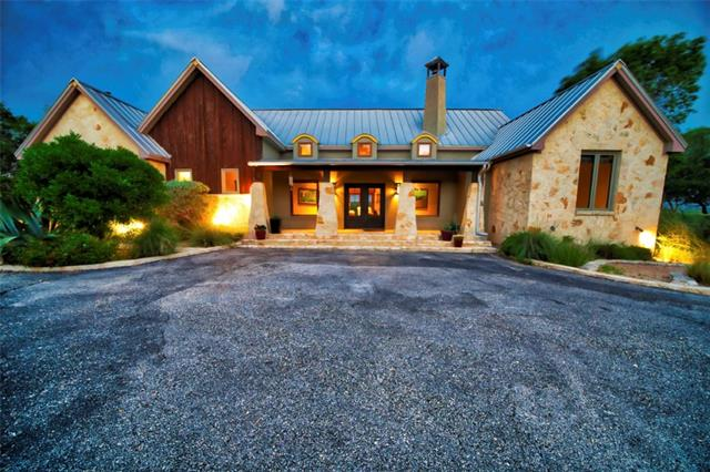 Unique Gentleman's Ranch. 800 ft of rare spring fed Barton Creek frontage. Main house 2728 sqft of distinctive artisan Hill Country design featuring iconic stonewall gated entry, mesquite floors, stone walls, art niches, copper counter-tops and kitchen sink, chefs gourmet stove, custom light fixtures, stone pillars, outstanding Hill Country views and room for a pool. 1672sqft guest qtrs and studio/office. Private location minutes from Austin and Bee Caves. Rare multi-use unrestricted Ag exempt estate!
