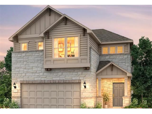 Move-In Ready New Build 3Bed/2.5Bath Two-Story. Homesite Located Across from Austin Metro Light Rail Station. Espresso Cabinets with Upgraded Backsplash and Granite Countertops at Kitchen, Study w/Glass French Doors. Home includes Washer, Dryer, Refrigerator and Blinds if closed by 12-31-17.