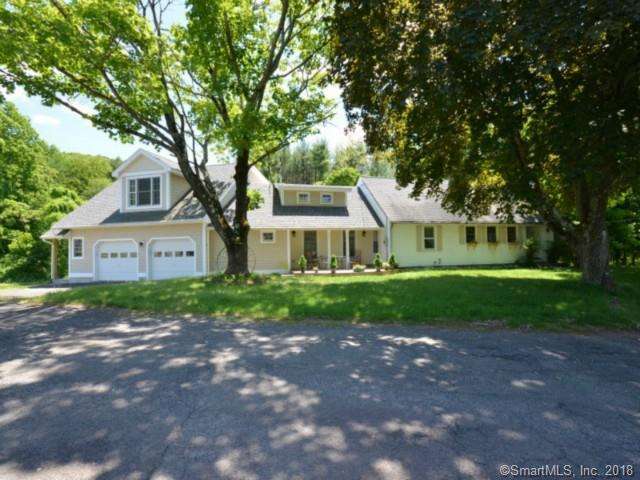 "Introducing ""Three Level Farm"". An exceptional country lifestyle offering on 14+ bucolic acres and within 55 miles of Manhattan. Charming 3 bedroom, 4 full, 1 half bath 1947 Cape that has been meticulously expanded and updated in 2011.  Sited far off the road and adjacent to town open space for additional privacy. This lovely home also offers a flexible floor plan as well as ""in law"" suite with separate entrance.  Outbuildings include; studio with thermopane windows, electricity and newer roof and siding.  Workshop with electricity, stone walls, seasonal pond, artisan well and newer septic.  Lovely covered front porch for enjoying the pastoral views. A convenient location that is only minutes to quaint West Redding and the train to down county and NYC. Perfect opportunity for the buyer envisioning an equestrian, vineyard, organic farming lifestyle or just an opportunity to build a dream home!  Endless possibilities as well as the potential for sub division with access off of Gallows Hill and Redding Road (subject to town approvals).  Separate Redding Fire Tax."