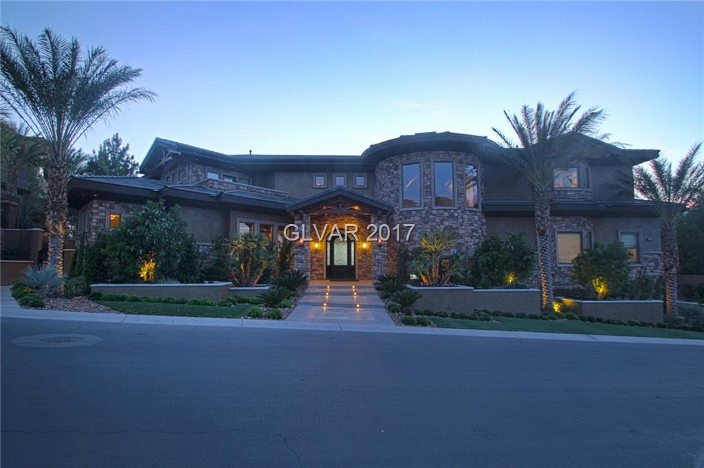 NEWLY CONSTRUCTED 11,758 SQ. FT. HOME ON THE STREET OF DREAMS IN DRAGON RIDGE COUNTRY CLUB* ENJOY SWEEPING VIEWS OF THE 18TH HOLE AS WELL AS A PANORAMIC VIEW OF THE WORLD FAMOUS LAS VEGAS STRIP* CLIVE CHRISTIAN INSPIRED DESIGN & ATTENTION TO DETAIL MAKE FOR A MODERN YET COZY & UNMATCHED LIVING EXPERIENCE* AN ENTERTAINERS DELIGHT BUILT FOR THE ULTIMATE HOST* BEAUTIFULLY APPOINTED & WELL BUILT W/ COMFORT, ELEGANCE & CONDUCIVE LIVING IN MIND*