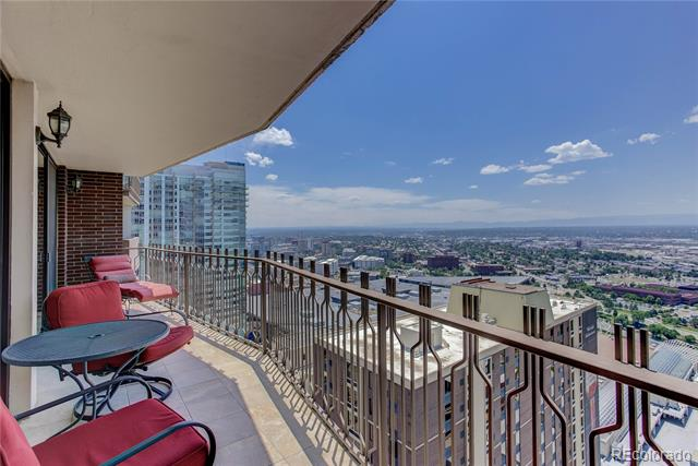 For an acceptable offer Seller will pay $50,000 towards the Special Assessment at Time of Closing! Can't Beat That for this one-of-a-kind, turn-key, 1 bedroom, 2 bath residence designed and updated throughout. Large windows & spacious outdoor balcony offers magnificent views of the entire Rocky Mountain range in addition to exciting Downtown Denver city views. A truly turn key unit with 1,577 sqft of living space on the 41st floor–1 of the largest units in Brooks Towers. Featuring newer kitchen appliances, an in-unit washer & dryer, 2 storage units (1 in unit & 1 in hall), & 1 parking space. This condo has everything you need to bring your toothbrush & cloths to move-in and call this spectacular unit your home. Amenities include concierge, clubhouse, swimming pool, workout room, game room, meeting room. Close to Denver's best restaurants, shops, trails, event venues and much more. Walk to DCPA, Lodo, and the light rail. Don't miss the 3rd Floor Amenities!