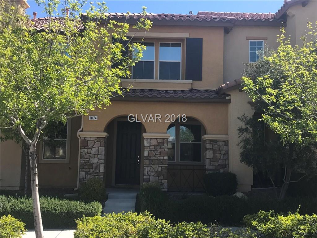 Beautiful 4 bedroom, 3 bath town home in Inspirada. Property features an over sized master bedroom with laminate and carpet throughout. Kitchen with solid counter tops, breakfast bar, pantry and dining area. Property has great potential for the right buyer. FHA financing available!