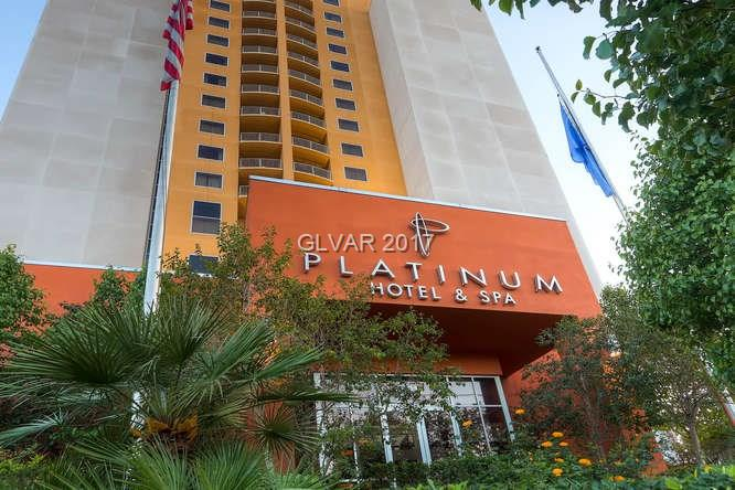 One bedroom (Princess Suite), fully furnished condo/hotel located on the 10th floor with FULL STRIP VIEWS!  Stainless steel appliances, flat screen TV's, sofa-sleeper and king bed.  Granite counter tops in kitchen, indoor & outdoor pool, spa, fitness center & restaurant.  Walking distance to Las Vegas Strip! Platinum Nightly Rental Program Available!