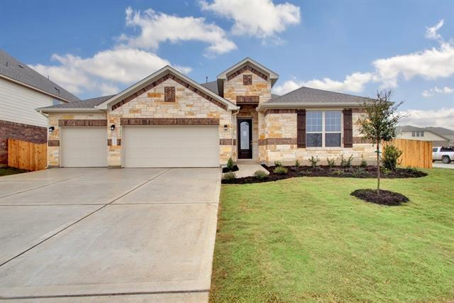 Beautiful family home that sits on large corner lot. One story plan, the Caporina, has 2752sf and features 4 bedrooms, 3 baths, private study, game room, 3 car garage, and beautiful eat in kitchen with great cabinet space. Interior finishes include hardwood flooring throughout most living areas, granite in the kitchen and master bathroom, built in stainless steel appliances, and many more upgrades.