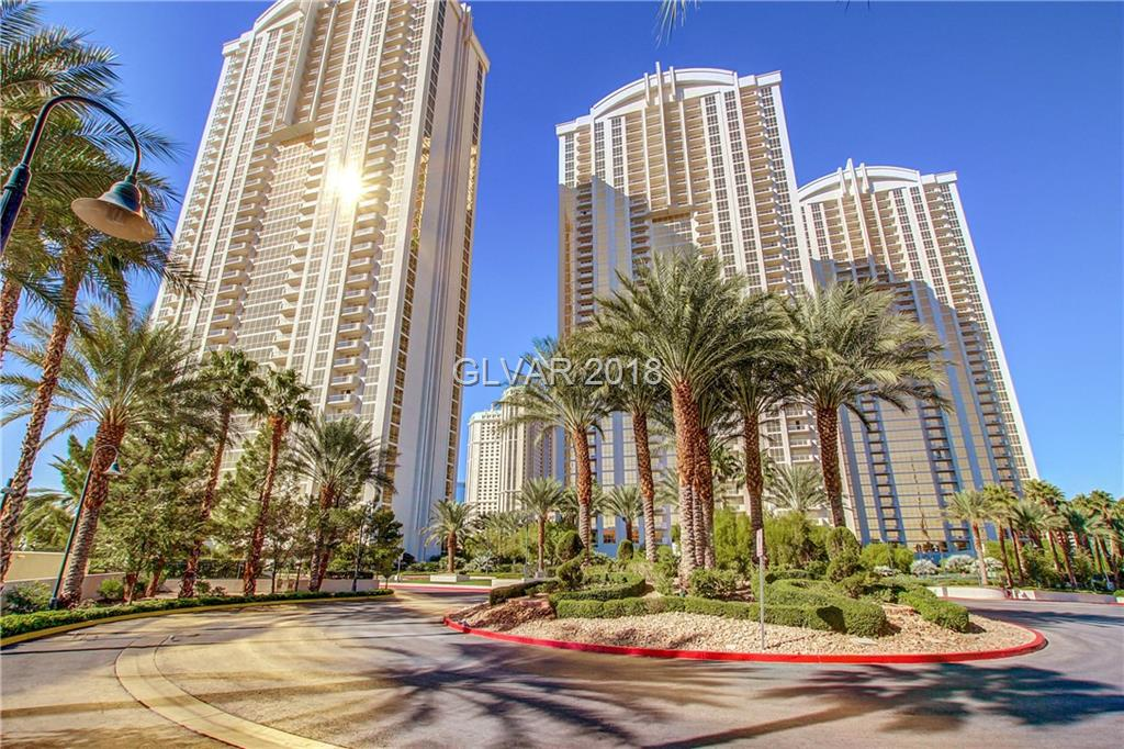Tower 2, 1 Bedroom & Studio combo (2214 & 2216) on 22nd floor with MGM Pool and Top Golf Views! Designer furnished turnkey. Jacuzzi tub, plasma TVs, custom Snaidero cabinetry w/ granite counters. Designer furniture & furnishings. Owner's pool/spa, lounge, gym, valet, concierge & access to MGM Grands amenities: Pool/spa, casino, shopping & restaurants