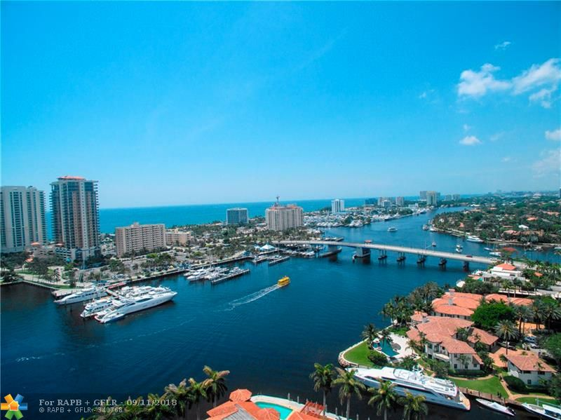 WOW! HUGE PRICE REDUCTION!!! THIS WILL GO FAST!!! MAGNIFICENT WATERFRONT DIRECT OCEAN ACCESS 3 STORY TOWNHOME - 3 BEDS - 3.5 BATH + HUGE 3rd FLOOR DEN/MEDIA ROOM WITH WET BAR - 2 CAR GARAGE- ABSOLUTE LUXURY! - 25 FOOT DOCK/NO FIXED BRIDGES/OCEAN ACCESS - MARBLE FLOORS ON FIRST FLOOR & BRAZILIAN CHERRY WOOD FLOORS ON 2ND & 3RD FLOORS - ELEVATOR - WATER FRONT POOL - WOOD CABINETS - HIGH END STAINLESS STEEL APPLIANCES - CENTRAL VACUUM - IMPACT WINDOWS - EXQUISITE WATER VIEWS - HUGE MASTER SUITE WITH JACUZZI BATH & WATERFRONT BALCONY - WALK-IN CLOSETS