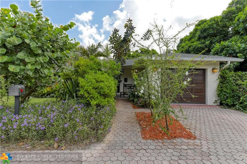 Under 500k.What a find! Garden Oasis in the middle of Wilton Manors. Beautiful home with large rooms, private shady back patio to enjoy anytime of the day. Impact windows throughout.  Dual sinks in master bathroom and the Master bedroom has its own private outdoor patio and walk in closet. Walk to the drive and all that it has to offer. So much to offer at a great price. Don't miss it! Check out all the new pictures.