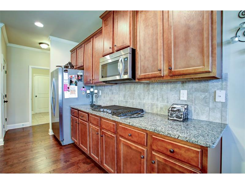 Additional view of spacious kitchen & ample counter space!