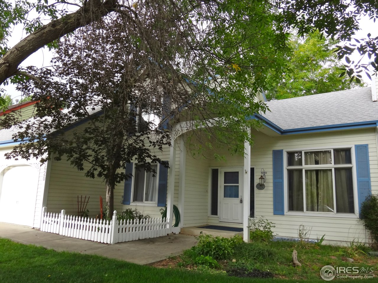 Perfect west central Fort Collins home in a victorian style neighborhood. Brand new carpet, large eat in kitchen with island & pull out drawers in cabinets. Vaulted ceiling in living room with fireplace. Separate dining room. Family room has built in shelves. Upstairs master with full bath & large storage area. Backyard has beautiful trees and patio, perfect for entertaining. Great house to build memories in with your family. All reasonable offers will be considered.