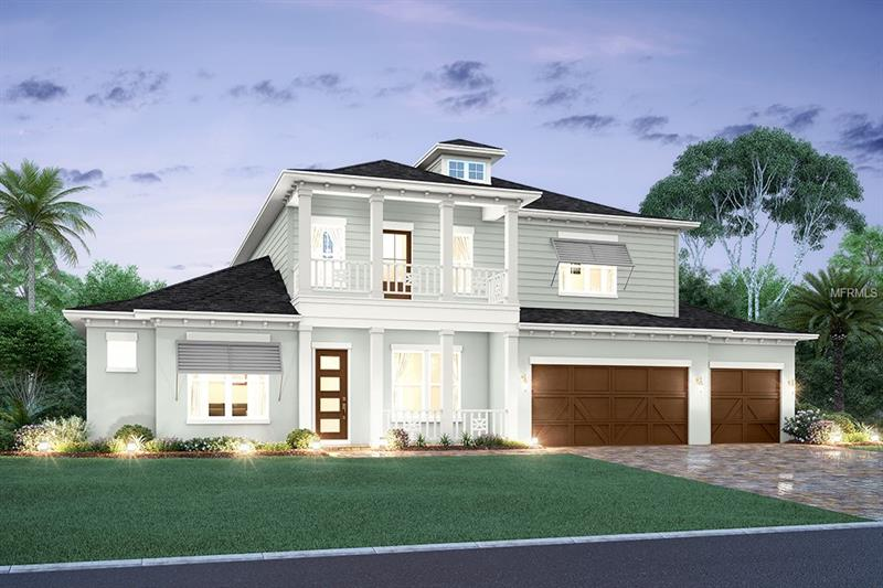 """UNDER CONSTRUCTION w/ estimated 12/31/2018 completion: New Legacy Homes offer superior craftsmanship & details in The Martinique. This 5 br/4.5 ba/3 car garage home w/custom pool is Energy Star certified keeping both the family & finances in mind. Soaring 21' ceilings in the great room coupled w/ 10"""" crown molding are sure to impress. Chef's kitchen features large island, apron sink, SS Fisher & Paykel appliance package (gas) including double drawer dishwasher, pot filler, soft-close custom cabinets, walk-in pantry & LED under cabinet lighting. The impeccably designed 1st floor includes a master suite, great room w/ stackable french doors heading out to an 8' covered lanai, kitchen, breakfast nook, private den & guest room. 2nd floor boasts a spacious recreation room, three additional bedrooms featuring walk-in closets and 2 full baths. Additional upgrades include: Elan Home Automation system, remote video doorbell, in wall pest tubes, interior 8ft doors, custom cabinetry, pre-wire audio, USB outlets, Icynene spray foam insulation, 80 SF semi-conditioned attic storage space, 18 Seer HVAC w/multi zoned control, 2-10 Builder Warranty & more. Located in A rated Plant/Coleman/Mabry school district & minutes to Tampa International Airport, boutiques & dining."""